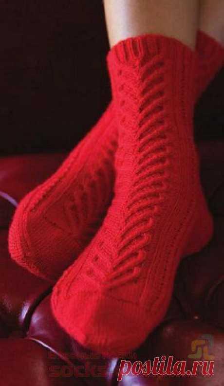 Вязаные носки «Sweetheart»