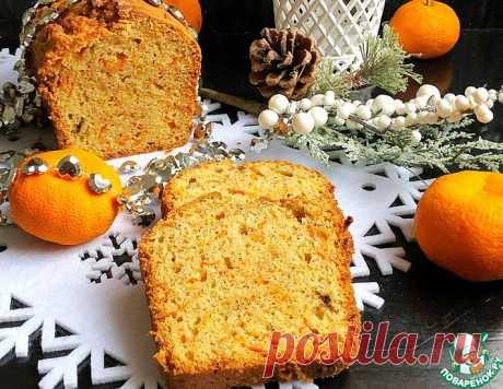 Пряный морковный кекс – кулинарный рецепт