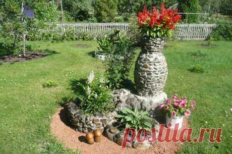 Садовый декор из камня. Мечтаю иметь такой в нашем саду | Я не сдамся без боя. | Яндекс Дзен