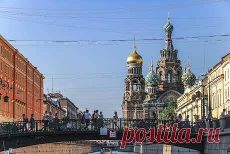 Прогулка по каналам Петербурга