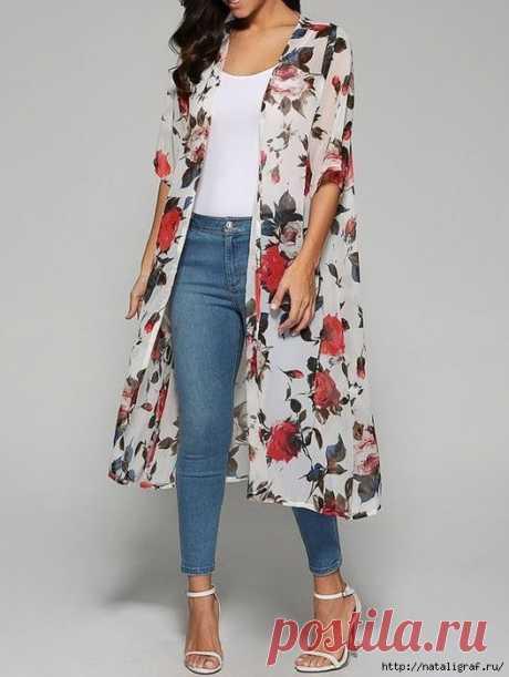 Идея для летнего пальто