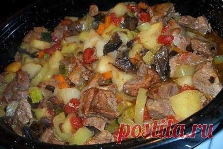 Tasty roast in the crock-pot