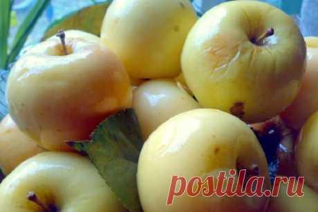 6 рецептов на любой вкус. Самые вкусные моченые яблоки! - Кулинарный Гуру