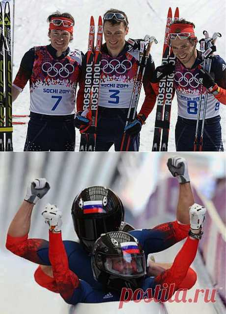 В преддверии победы России на олимпийских играх 2014