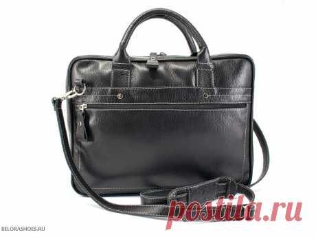 Портфель унисекс Гранд, черный - сумки. Купить сумку Sofi