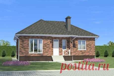 Проект небольшого, но продуманного дома с 3 спальнями: 99,10 м2 | flqu.ru - квартирный вопрос. Блог о дизайне, ремонте