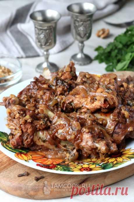Гурули (грузинское блюдо из курицы) — рецепт с фото пошагово