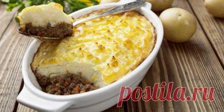 10 отличных рецептов запеканки с фаршем Вкусные и сытные блюда с картошкой, капустой, макаронами, помидорами, сыром и не только.