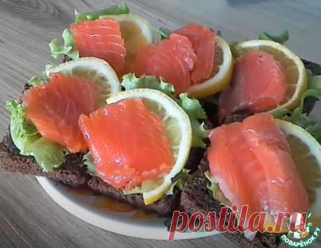 Засолка красной рыбы – кулинарный рецепт