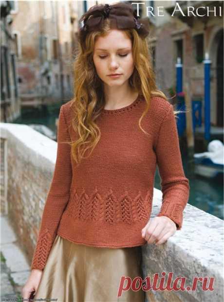 Пуловер Tre Archi от Луизы Хардинг