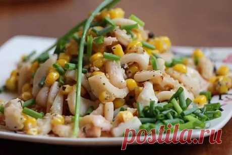 Салаты с кукурузой - 20 простых и вкусных рецептов
