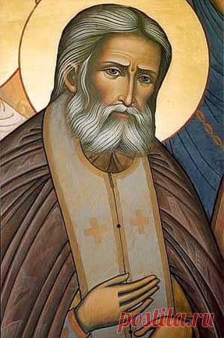 Преподобный Серафим Соровский.