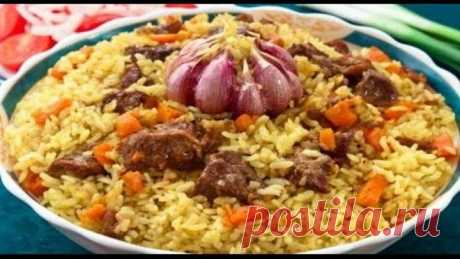 PILAF. AS IT IS CORRECT TO MAKE THE REAL UZBEK PILAF