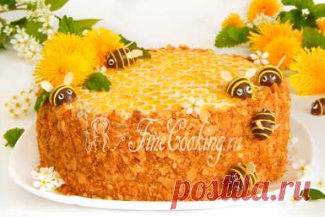 Торт Медовик классический - рецепт с фото