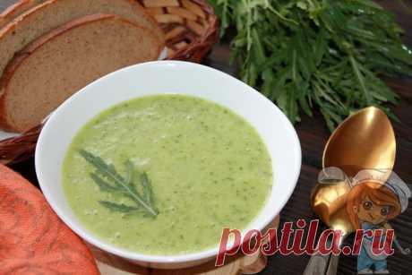 Суп с рукколой. Рецепт супа-пюре из рукколы, картошки, лука и специй Можно ли рукколу добавлять в супы. Рецепт супа пюре из рукколы. При несложном приготовлении суп с рукколой обладает приятным вкусом, эффектным внешним видом