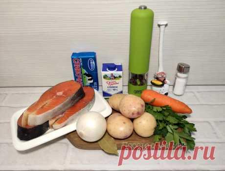 """Суп """"Сливочный"""": готовлю с запасом (ничего не натираю и сковородки не пачкаю)   Просто с Марией   Яндекс Дзен"""