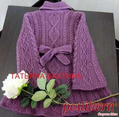 """Пальто """"Элизабет"""" - Вязание для детей - Страна Мам"""