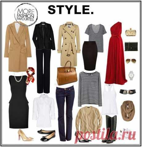 Базовый гардероб от Евелины Хромченко