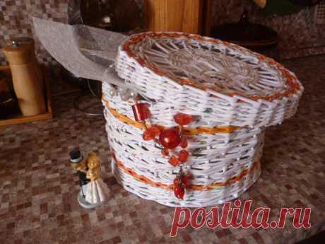 Плетение корзинки — Сделай сам