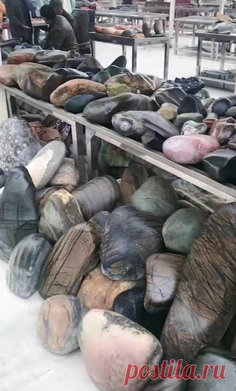 Необычные рынки камней в Китае: что там можно купить и почем   Соло-путешествия   Яндекс Дзен