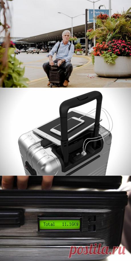Технологичная кладь. Совсем недавно мы выбирали дорожные сумки по вместительности и удобству, а теперь можно по уму и сообразительности. Вот вам 5 технологичных чемоданов, с которыми удобно не только таскать багаж, но и…