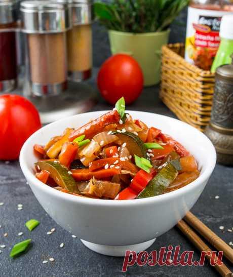 Овощи вок на Вкусном Блоге Просто, вкусно, по-азиатски. Мой любимый гарнир и самостоятельное овощное блюдо в последнее время. И сюда подходят любые быстро готовящиеся овощи – перец, баклажаны, брокколи, стручковая фасоль, шампиньоны, вешенки. Если найдете ростки сои – сюда же их 🙂 Сейчас я привожу один из самых простых вариантов – с морковью, пекинской капустой,…