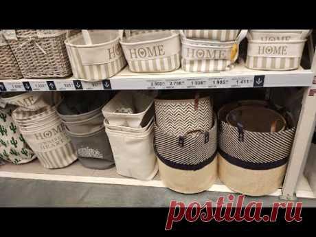 Я не понимаю, почему корзины в супермаркетах такие дорогие. А я всего за 100 рублей сделала не хуже
