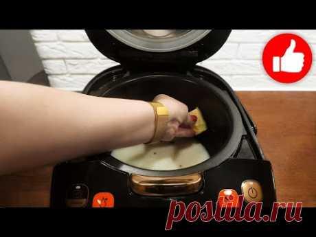 Дешёвый завтрак в мультиварке! Просто смешайте молоко с гречкой и вы будете в восторге от каши!
