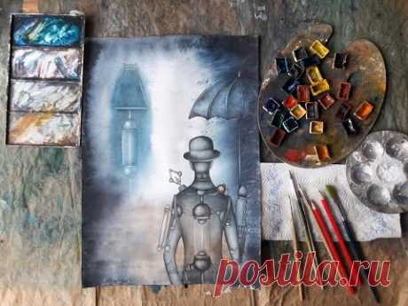 HOW WATERCOLOR PAINTING - YouTube