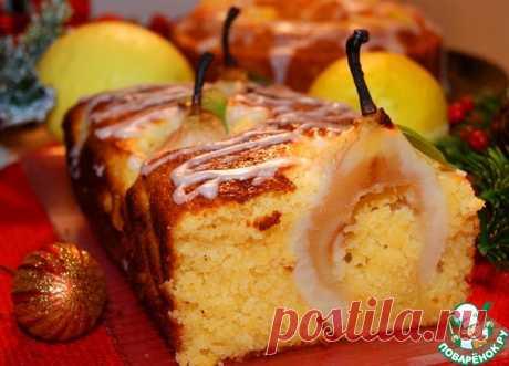 Лимонный кекс.