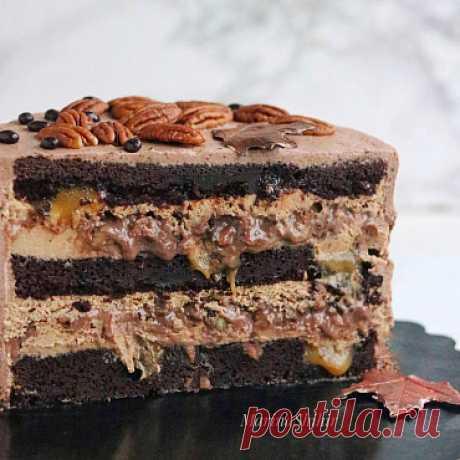 """Торт """"Гиннесс"""" - рецепты от кондитерского магазина Craftology"""