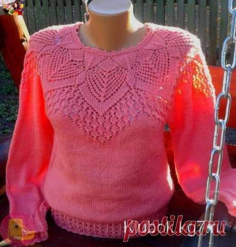 Очень красивая мохеровая блуза — Сделай сам, идеи для творчества - DIY Ideas