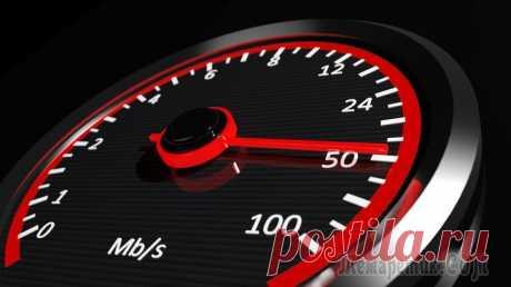 Проверяем скорость интернета: обзор способов.
