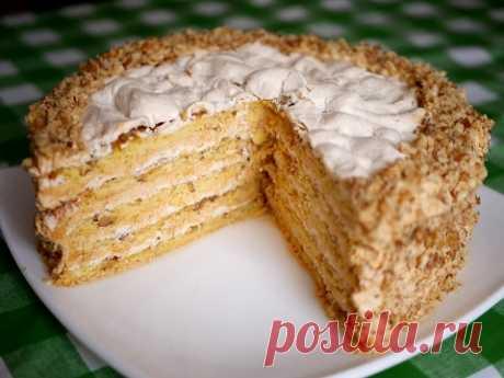 "Торт ""Прекрасная маркиза"" - YouTube"
