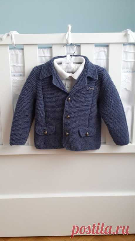 Blazer jacket, wool or cotton, boys jacket, metal buttons