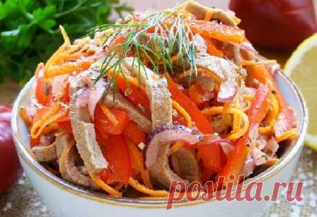 Мясной салат с овощами — СОВЕТНИК