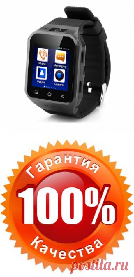 ЧАСОФОН ZGPAX S8, Android 4.4, 3G, камера 2 Мп