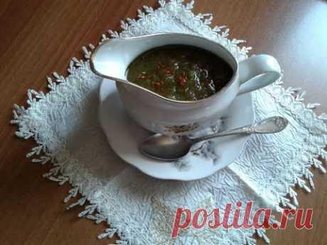 Летний грузинский соус Ткемали / Year-old Georgian Tkemali sauce