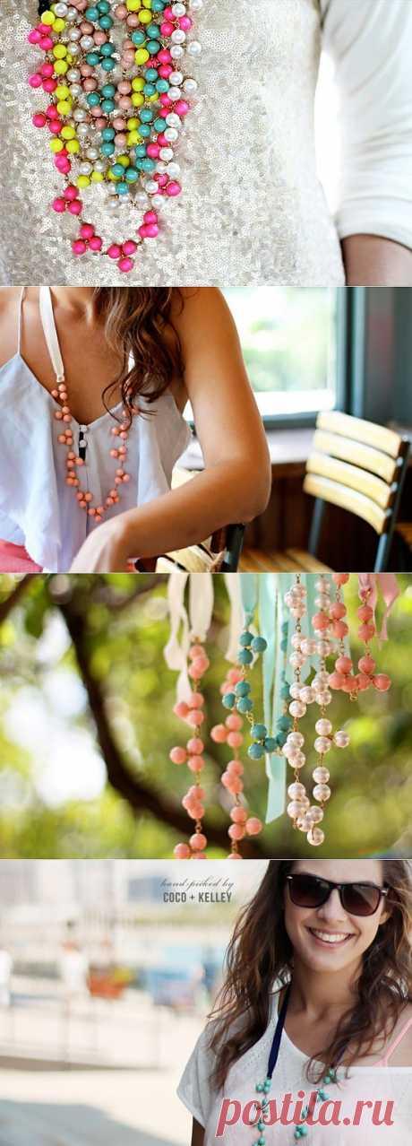 Бус много не бывает? / Украшения и бижутерия / Модный сайт о стильной переделке одежды и интерьера