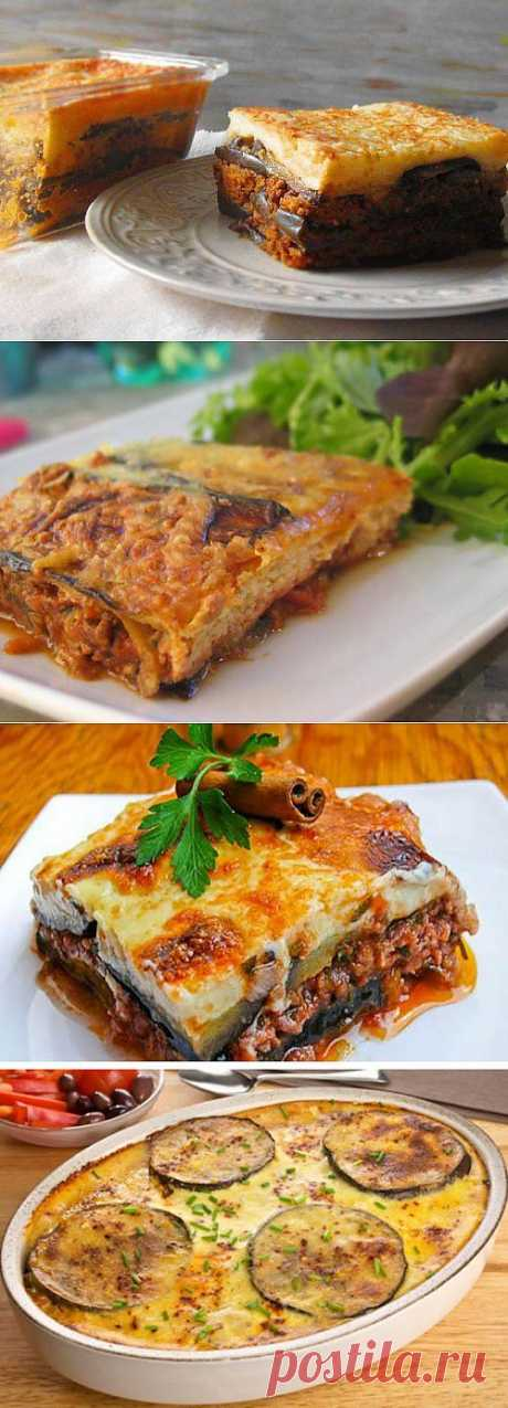 Musaka or what else to prepare from eggplants during a season \/ Simple recipes
