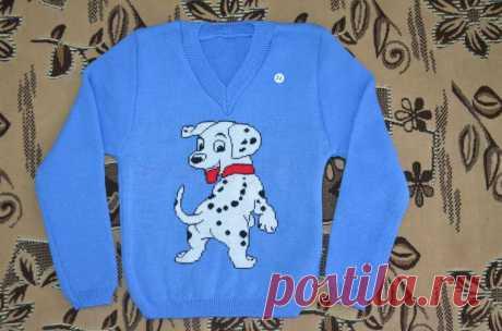 Одежда для мальчиков - Детская вязаная кофта - Автор: Вязаная детская одежда