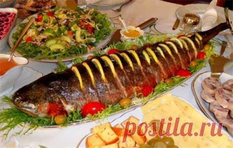 Горбуша целиком – праздничный вариант приготовления красной рыбы | Краше Всех