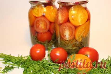 Помидоры дольками на зиму. 30 минут и готово!  Много лет назад, я впервые попробовала эти вкуснейшие дольки. Они мне очень понравились. Что касается томатов, этот рецепт у меня дома, считается одним из лучших. Благодаря уксусу, половинки не разле…