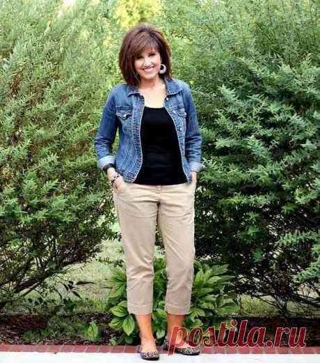 4 модели брюк, которые способны сделать фигуру стройной в возрасте за 50
