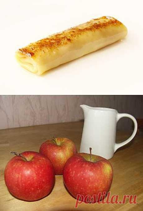 Блинчики с яблочной начинкой | ВКУСНО ПОЕДИМ!