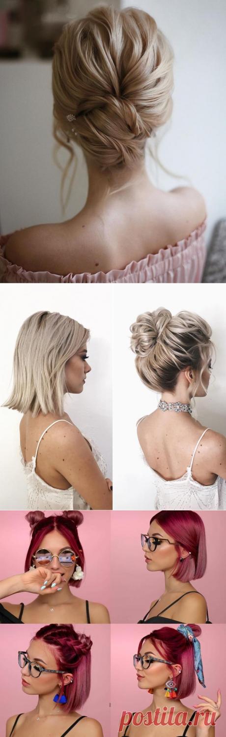 Модные прически на короткие волосы 2021: современные тренды