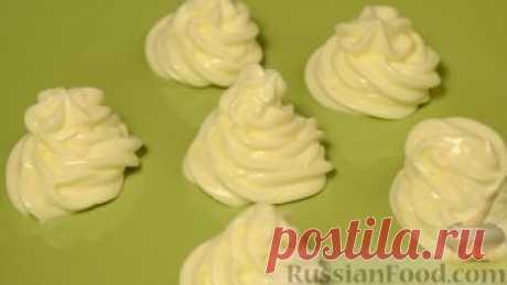 Рецепт: Сметанный крем (из 20-процентной сметаны) на RussianFood.com