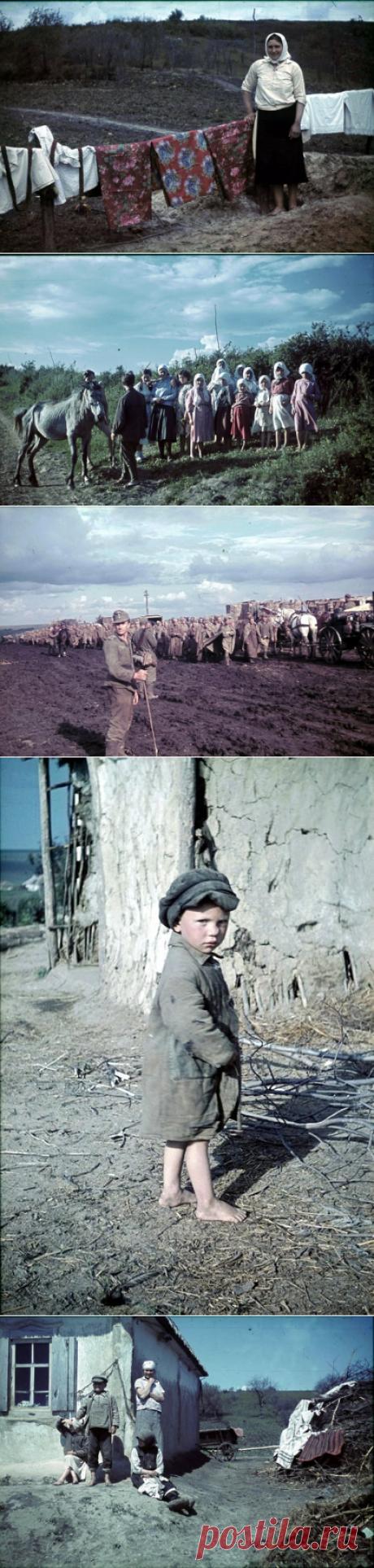 Советские деревни глазами солдата Вермахта В 1942 году молодой немецкий фотограф Франц Грёссер (26.03.1911 — 13.11.1944) в составе войск нацисткой Германии оказался на Восточном фронте.