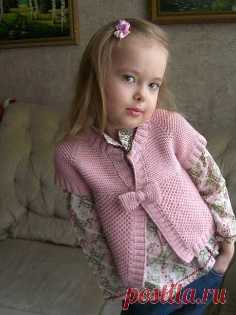 Cardigan for the girl.