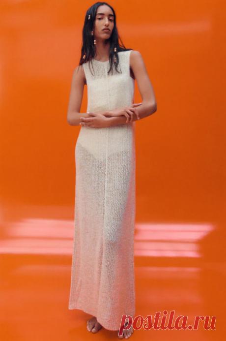 Летние вязаные платья от Zara. Вдохновляемся | WarmEngineer | Яндекс Дзен